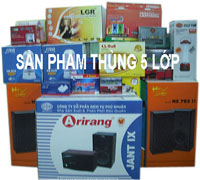 Thùng carton in offset