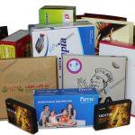 Công ty sản xuất bao bì hộp rượu, hộp cứng, thùng carton in offset