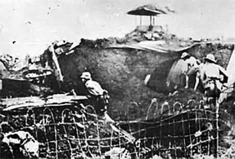 đánh hầm ngầm Bình Trị THiên 30/4/19765