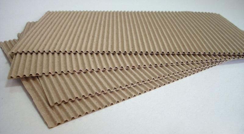 Sản xuất giấy carton 2 lớp,