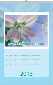 lich sắc hoa
