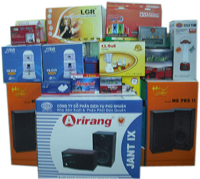 Nhà sản xuất thùng carton hộp giấy thương hiệu ở TPHCM