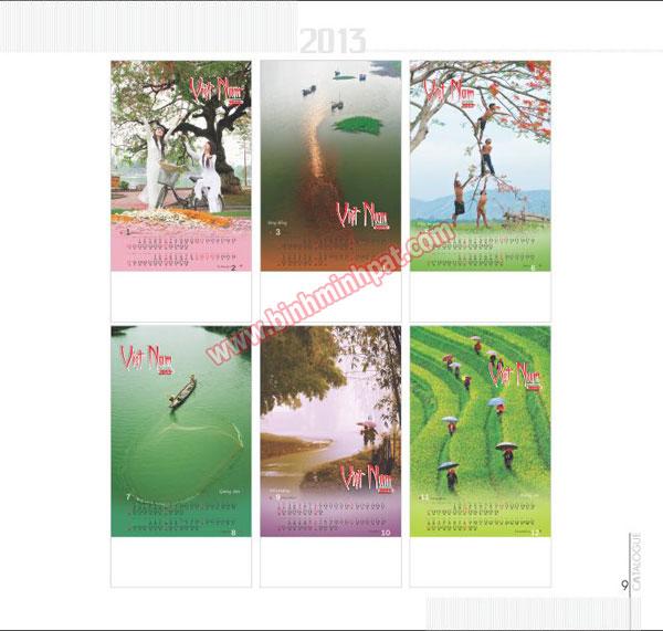 Bộ lịch 13 tờ chủ đề – Đời thường