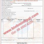 In hóa đơn Tài Chính tại Quận 8