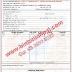 Mẫu hóa đơn Bán Hàng, In hóa đơn gtgt