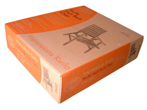 thùng carton đựng ghế gỗ