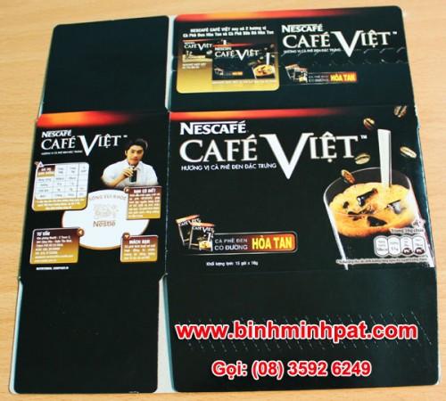 hộp giấy cà phê Việt