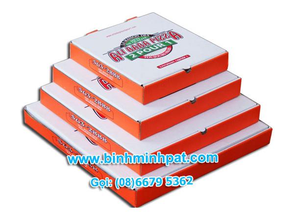 Mẫu hộp bánh pizza