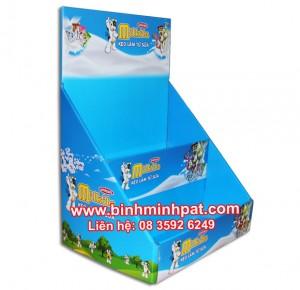 Kệ kẹo trưng bày milkita
