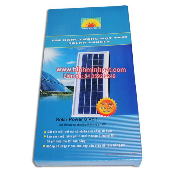 hộp giấy in offset đống gói pin mặt trời