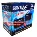 Mẫu Thùng carton loa Sơn Tùng S502