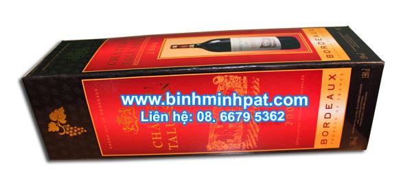 hộp giấy rượu vang