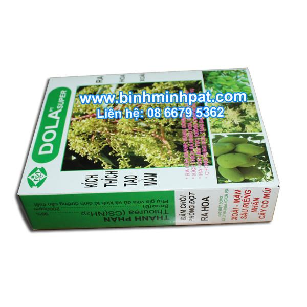 Hộp giấy in offset cho ngành phân bón cây trồng