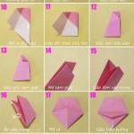 Gấp giấy thành các kiểu hộp đựng đồ hữu ích -(p1)