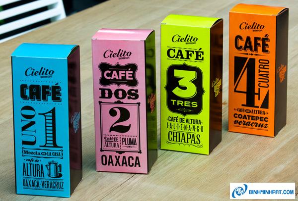 Những mẫu thiết kế bao bì Cafe ấn tượng và bắt mắt – Phần 1
