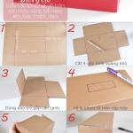 Tạo những món đồ hữu ích từ tấm bìa thùng carton