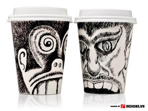 Cốc Face Cups