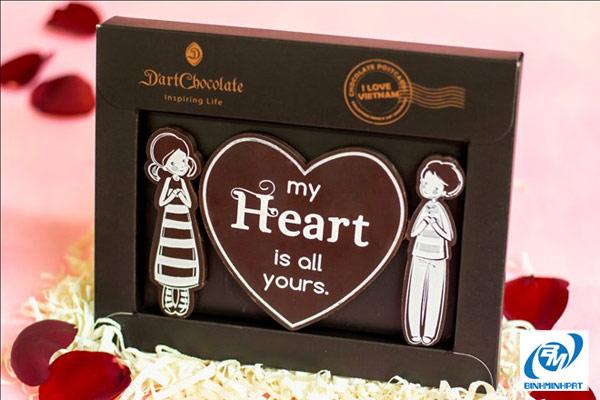 hộp chocolate