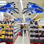 Kệ giấy trưng bày cho Hệ thống siêu thị, Shops…