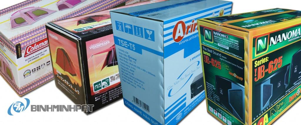 thùng carton, thùng carton in offset