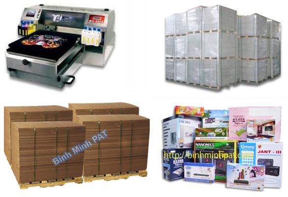 In thùng carton, hộp giấy xuất khẩu