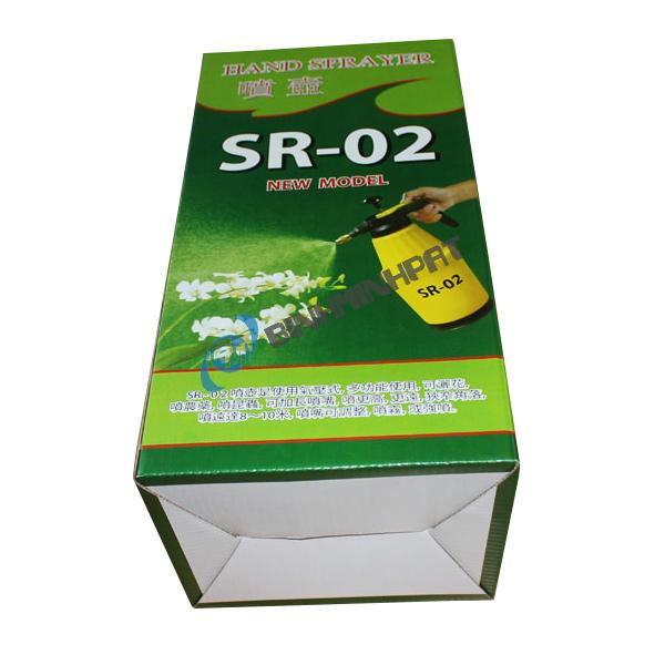 Hộp carton in offset cho bình phun nước