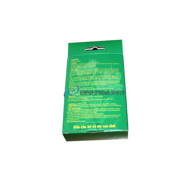 Hộp giấy đựng dầu gió in offset