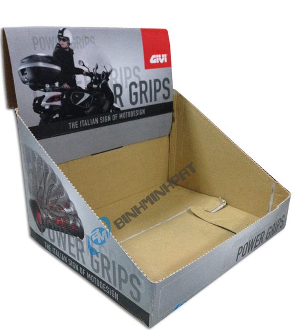 thùng carton trưng bày sản phẩm 04