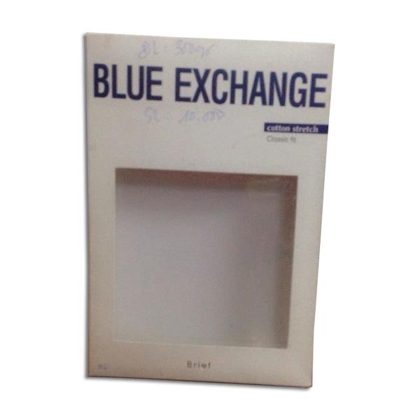 Hộp giấy cho thương hiệu Blue Exchange
