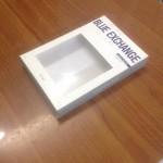 Hộp giấy cho thương hiệu thời trang Blue Exchange