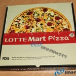 In hộp giấy carton đựng bánh pizza