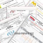 In hóa đơn tại Ninh Kiều