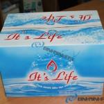 Thùng carton 3 lớp đựng nước uống đóng chai