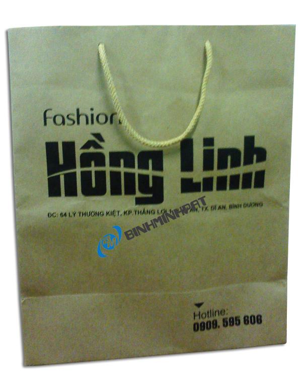 Túi giấy thời trang in offset