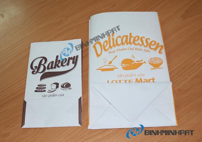 Túi giấy cho ngành thực phẩm