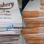 Bao bì giấy in offset cho thức ăn nhanh