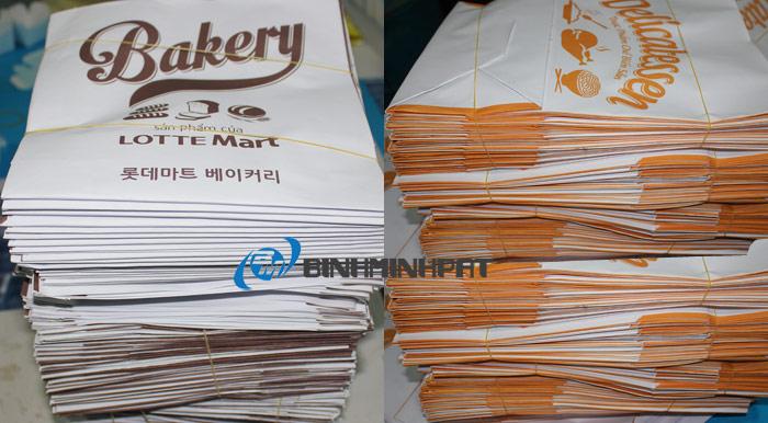 Túi giấy của Lotte Mart