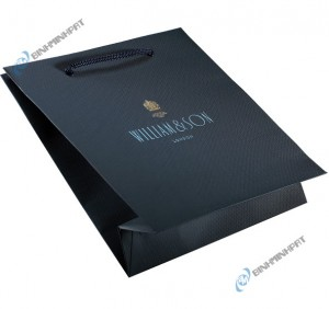in túi giấy với chất liệu giấy mỹ thuật