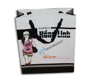 in túi giấy thời trang Hồng Linh