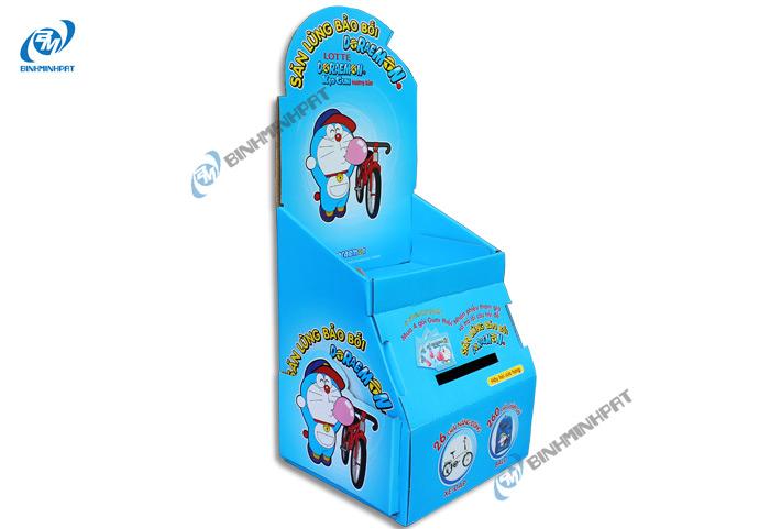Kệ giấy trưng bày Kẹo Gum ( Lotte)
