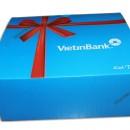 Hộp giấy đựng quà Tặng ViettinBank