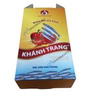 Hộp carton đựng nước mắm cá cơm Khánh Trang