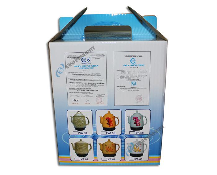 Hộp carton đựng Ấm Sắc Thuốc Điện Vạn An 3