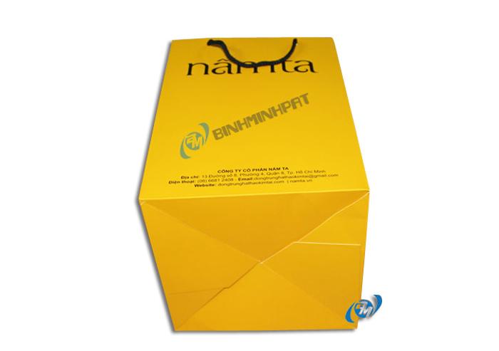 Túi giấy in offset đựng Nấm Linh Chi 2