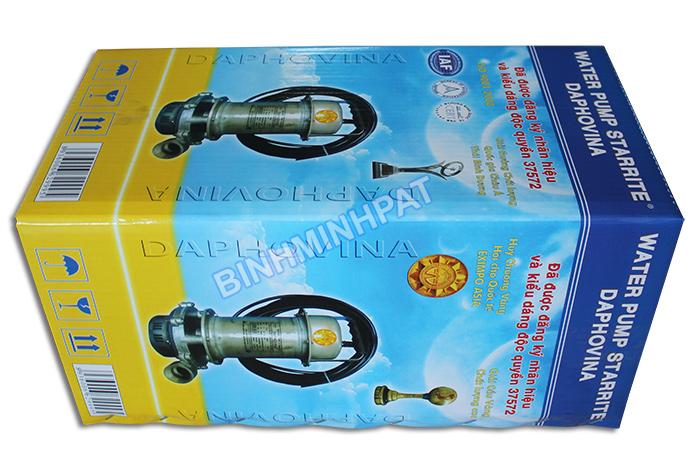 Sản xuất thùng carton in offset đựng máy Bơm nước - hinh 3
