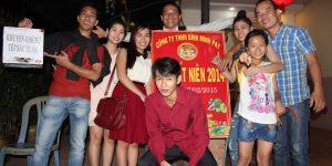 Ảnh Tất Niên Công ty Bình Minh PAT 2014