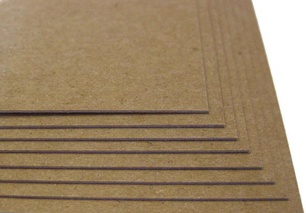 Giấy chipboard nâu dạng tấm