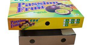 Sản xuất hộp carton đựng chanh dây xuất khẩu