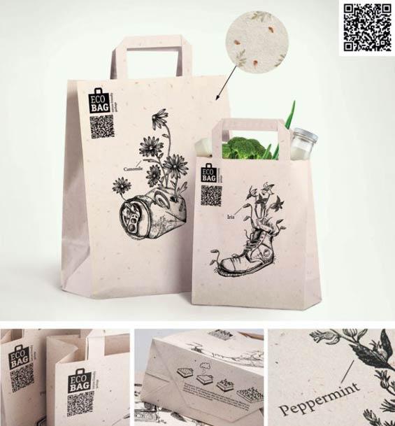 10 mẫu túi giấy có thiết kế đẹp mắt - hinh 2