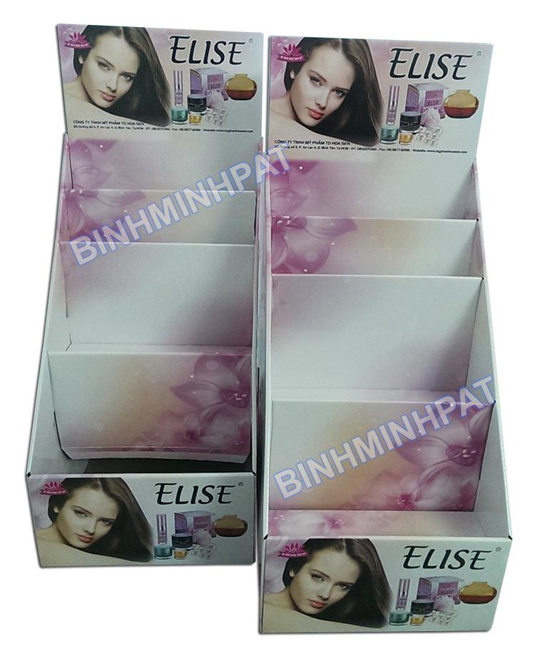 Kệ giấy trưng bày mỹ phẩm ELISE - hinh 5